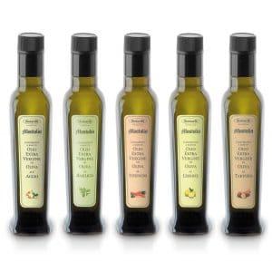 Condimenti all'olio extravergine di oliva