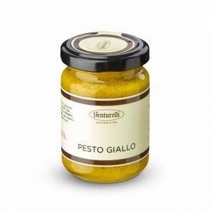 Pesto giallo crema di zucca e curry
