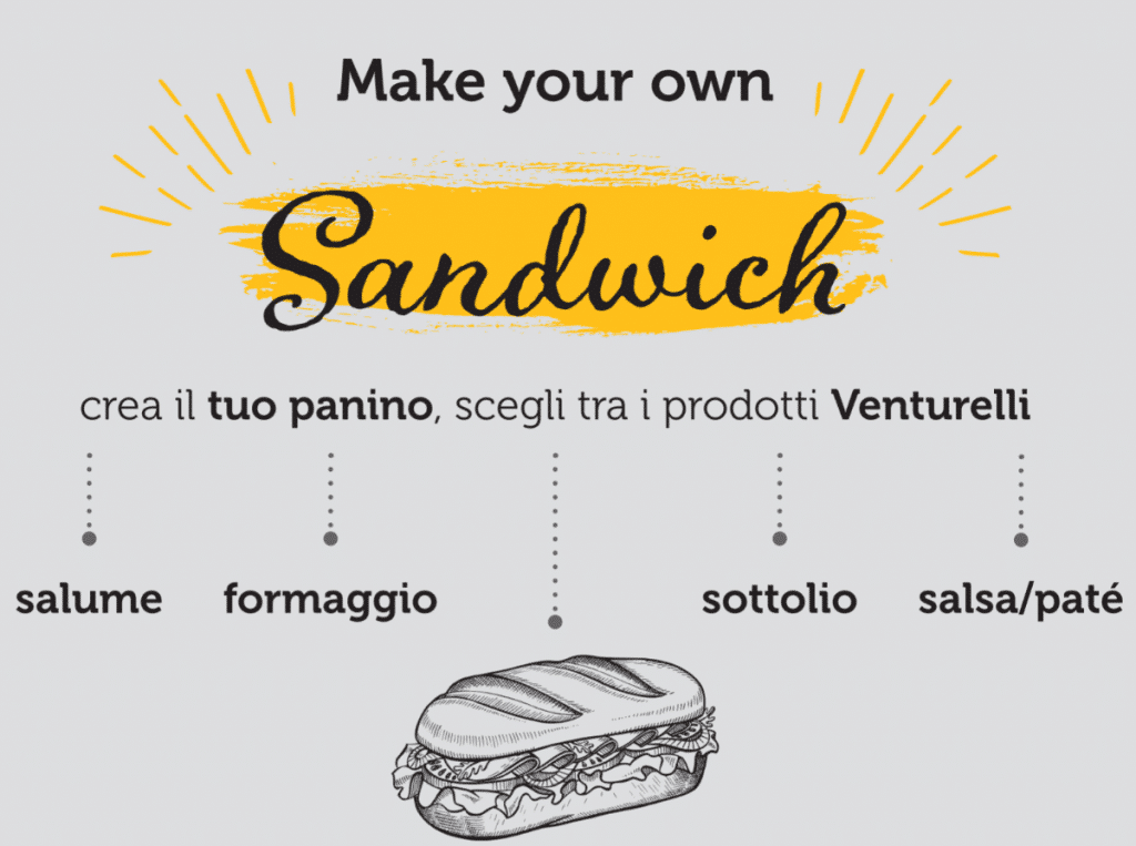 Venturelli-Italia - make your own sandwich