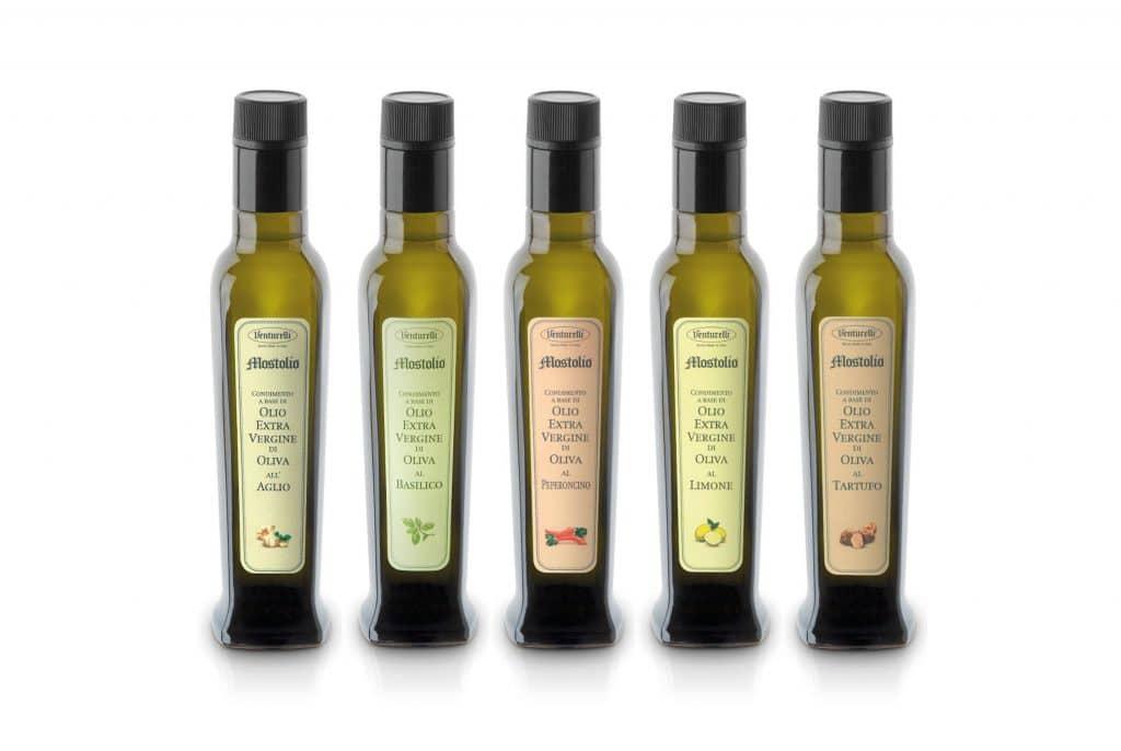 Aceto e condimenti all'olio di oliva