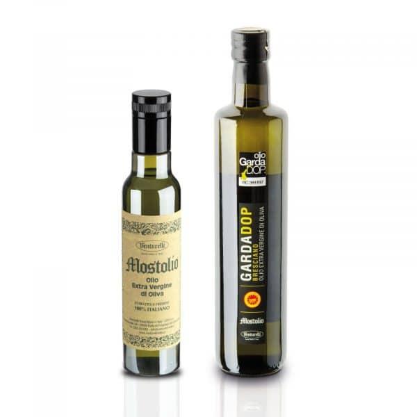 Olio garda DOP e olio extravergine italiano